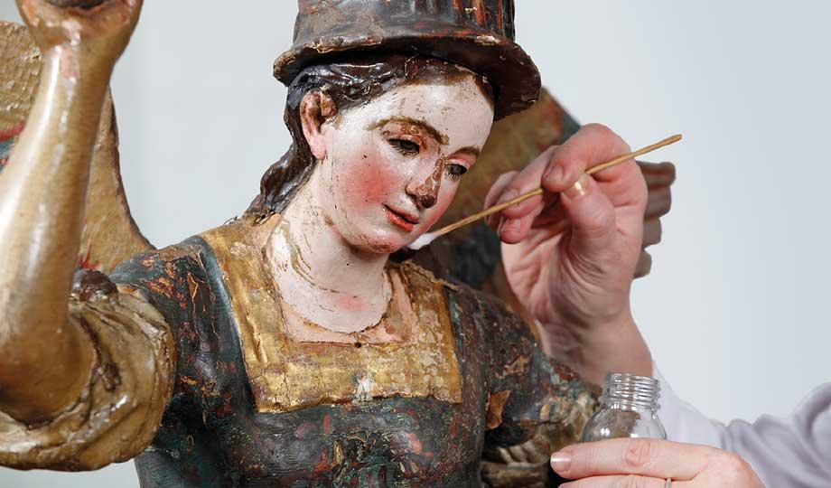 Erzengel Michael - Skulptur